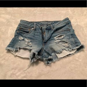American Eagle Denim Short-Shorts